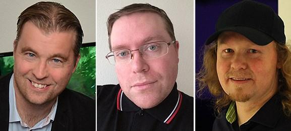 Fredrik Wester, Johan Westin, Matti Larsson