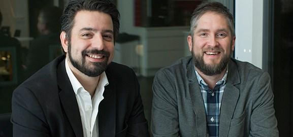 Emanuel Dohi och Tobias Engman