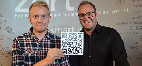 Anton Lundholm och Markus Eriksson, Zert