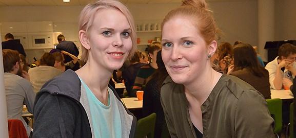 Elin Nilsson och Anna Palmér