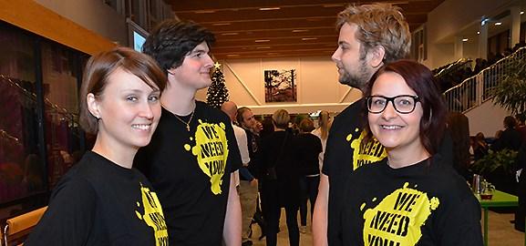 Joanna Åström, Jakob Nordström, Emil Nylind, Sanna Ågren