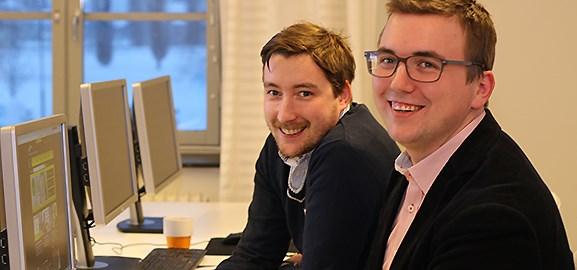 Tobias Viklund och Robert ELiasson AddSkills