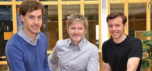Johan Tordsson, Erik Elmroth och Peter Gardfjäll