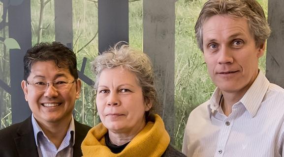Nelson Khoo, Irene Granlund, Christer Malm