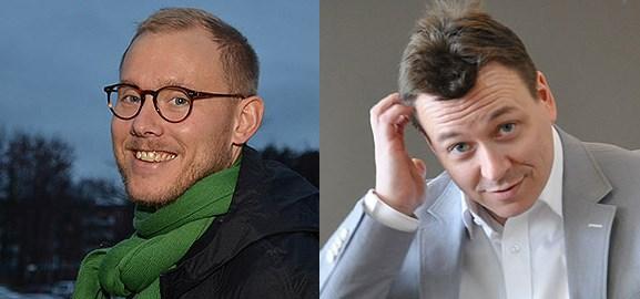 Jonas Berglund och Mattias Wiking