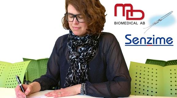 Pernilla Abrahamsson MD Biomedical and Senzime