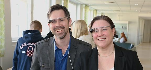 Jan Bidner och Eva Mårell Olsson