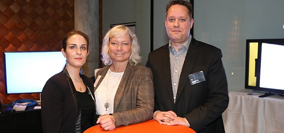Rebecca Sakayan, Lena Öhlund och Christian Wåhlin