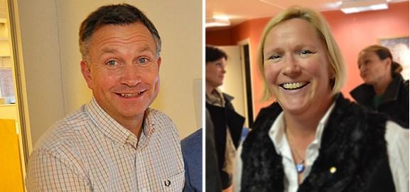 Peter Juneblad och Åsa Fällman