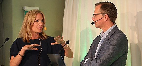 Sara Öhrvall och Mikael Damberg