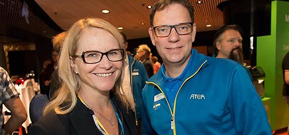 Charlotta Ungerth och Jörgen Winqvist