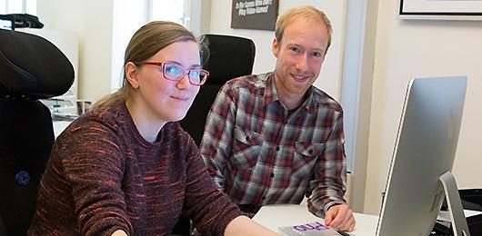 Katie Canning och Simon Almqvist Pettersson