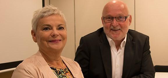 Liselotte Isacsson och Torstein Bratvold
