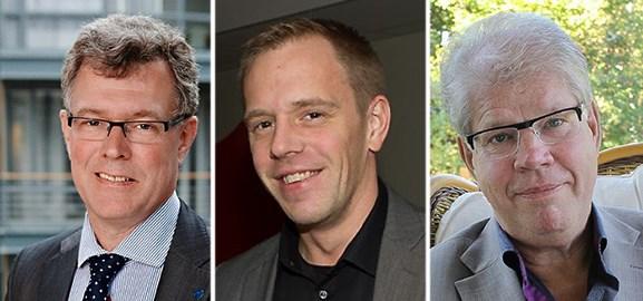 jan Gustafsson, Jörgen Bohlin och Olov Degerfeldt