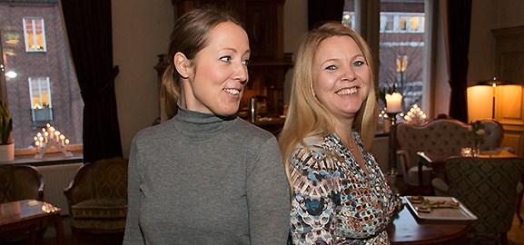 Mari Lagberg och Pia Törnqvist