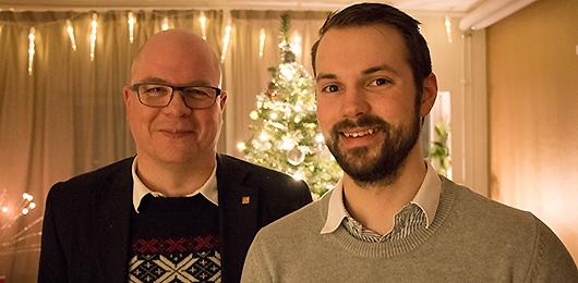 Johan Vesslén och Nils-Petter Augustsson