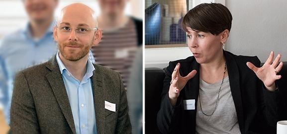 Kenth Johansson och Sara Lindahl