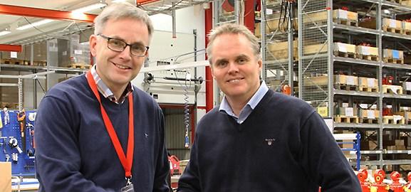 Rickard Lundström, Rototilt, och Tobias Emilsson, UDK