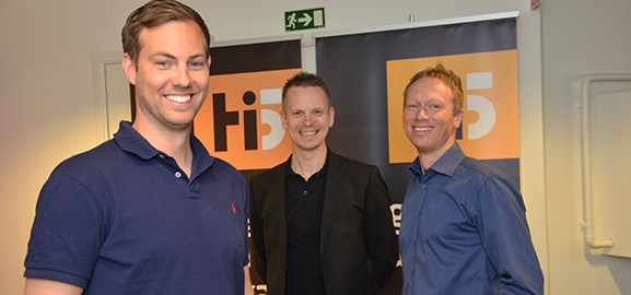 Daniel Coquard, Niklas Tiger, Christer Granberg
