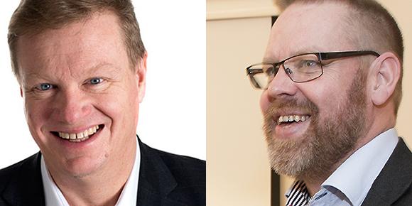 Lars Österberg och Anders Haraldsson