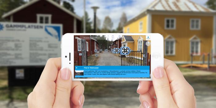 Augmented reality i mobilen