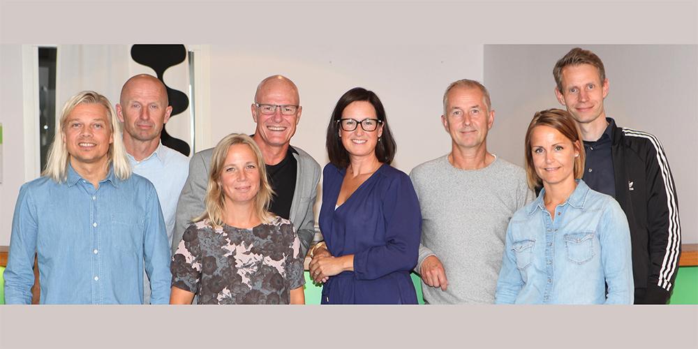 Jonas Olsson, Anders Stenebo, Eva Lund, Tommy Eriksson, Susanne Österman Dahlqvist, Jonas Osterman, Margareta Wåhlin och Glenn Reian.