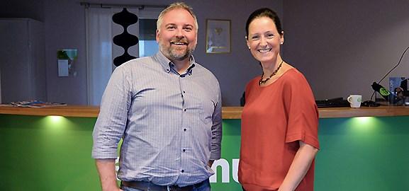 Andreas Lindahl och Susanne Österström Dahlqvist.