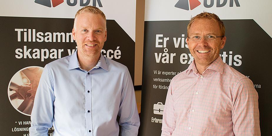 Mikael larsson, UDK och Fredrik Johansson, Check Point Sverige