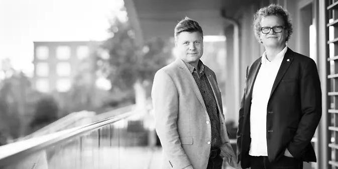 Bröderna Mats och Anders Hultdin, grundare av AM System.