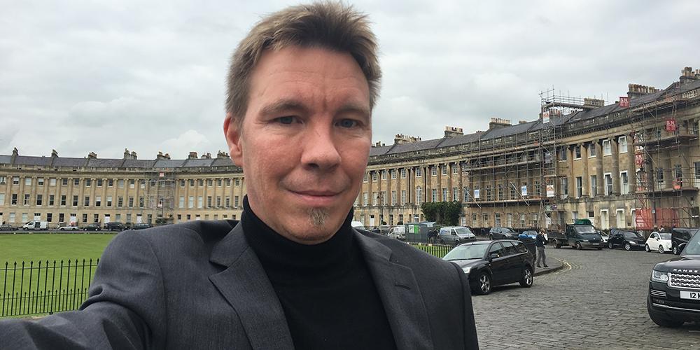 Joachim Ljungqvist, grundare av Content Central som nu står inför internationell lansering.