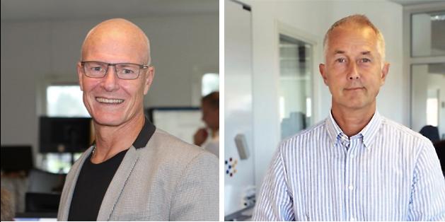 Tommy Eriksson och Jonas Osterman på Teknikhuset,