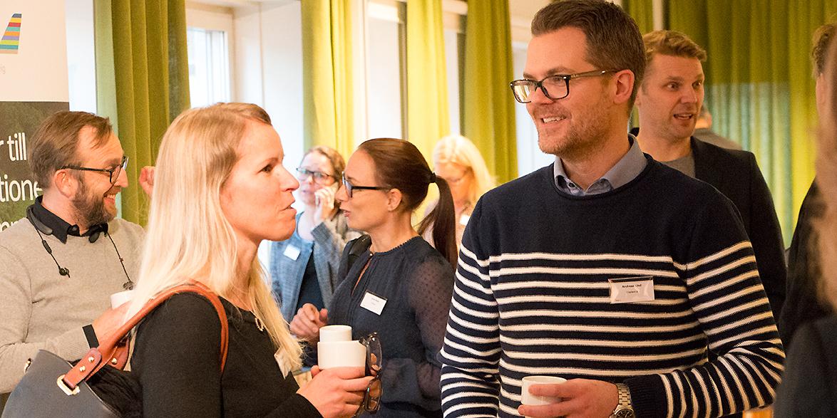 Anna Bjuhr , Umeå kommun, och Andreas Lind, Uminova Innovation