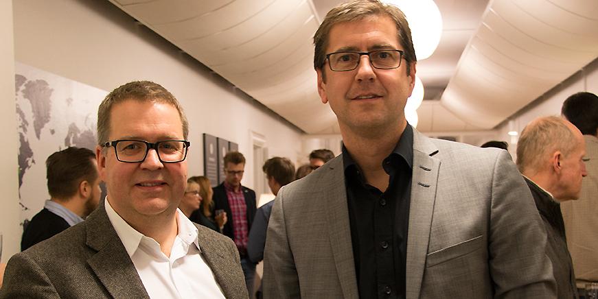 Anders Pettersson och Peter Lidström