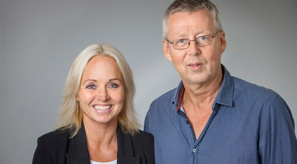 Helena Edlund and Thomas Edlund. Photo  Mattias Pettersson UmU