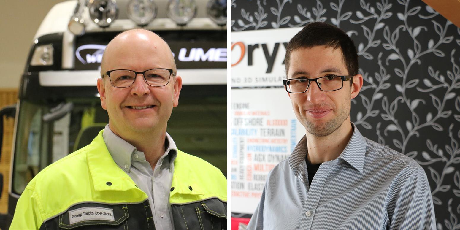Magnus Johansson och Michael Brandl
