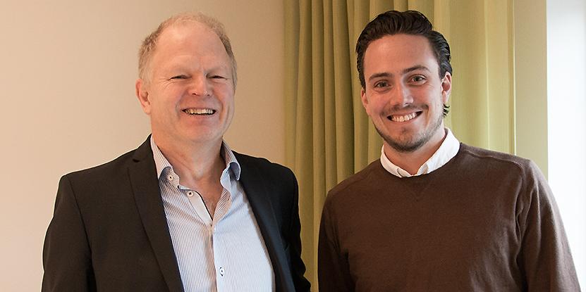 Per-Erik Nilsson och Johan Nylén