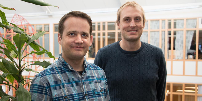 Johannes Karlsson och Peter Björk