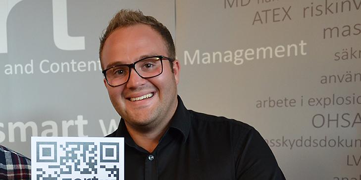 Markus Eriksson, ny delägare i Zert.