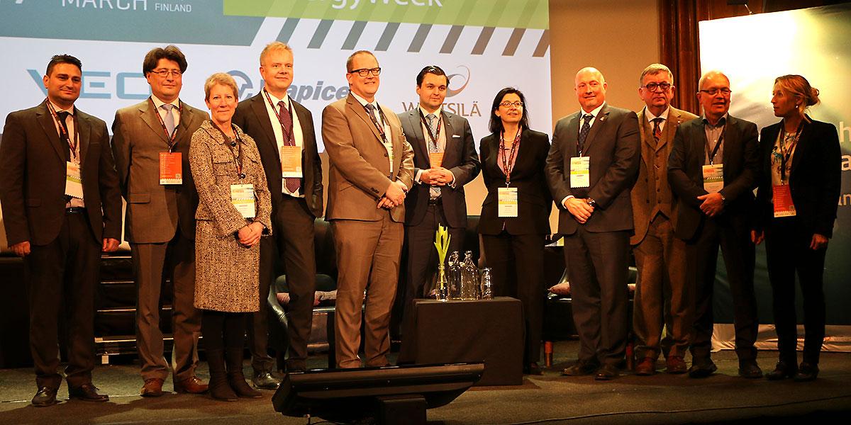 Deltagare på Energy Business Forum