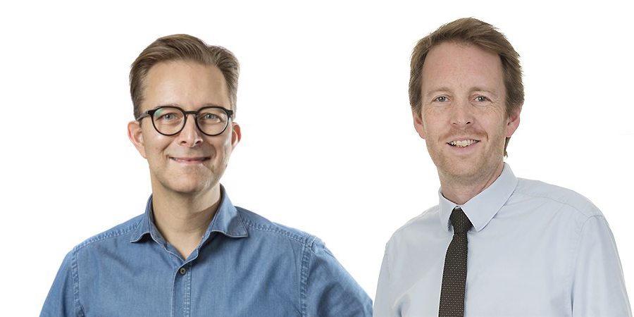 Stefan Eriksson och Torbjörn Karlsson
