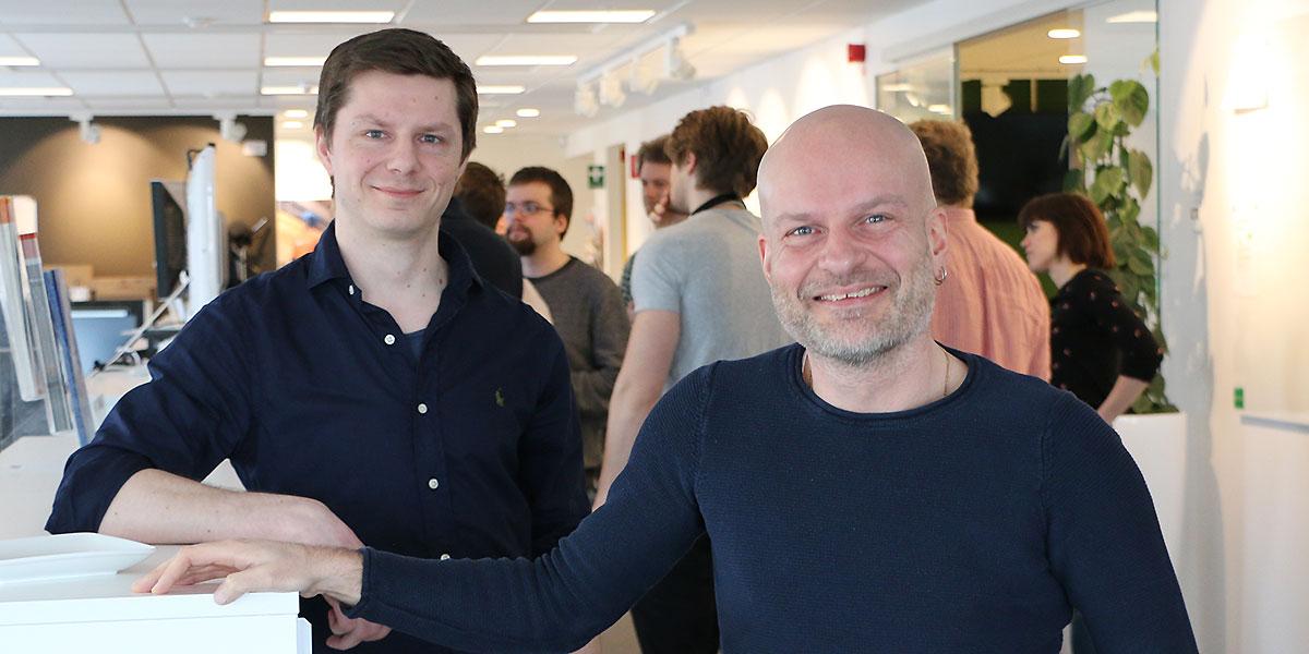Niclas Lockner och Alexander Sehlin.