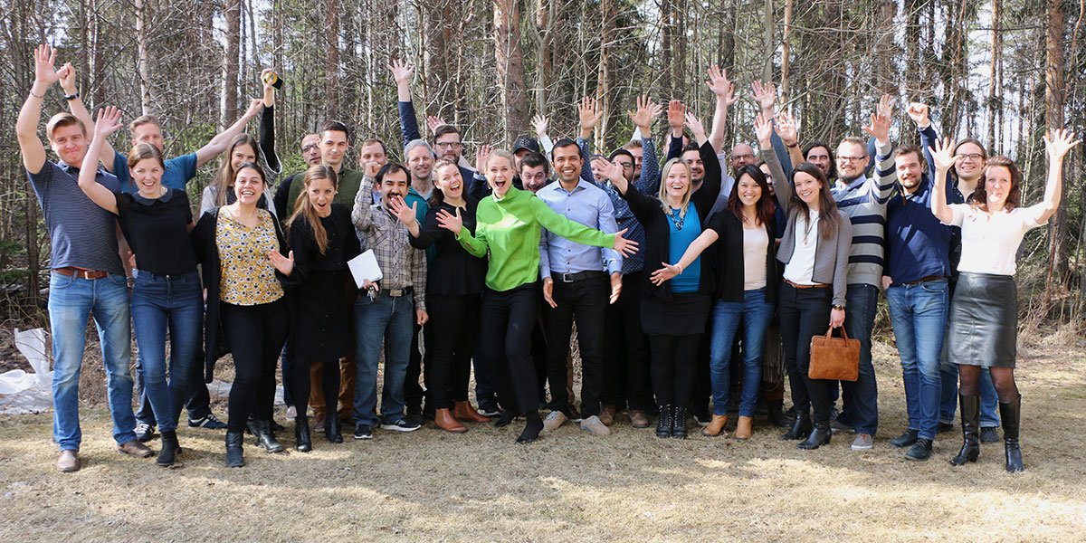 Camilla Björkman träffar startups i Umeå.