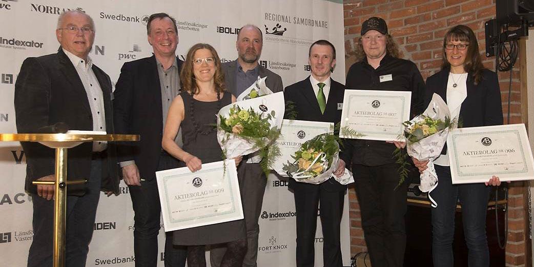 Vinnare i AB Västerbotten 2017.