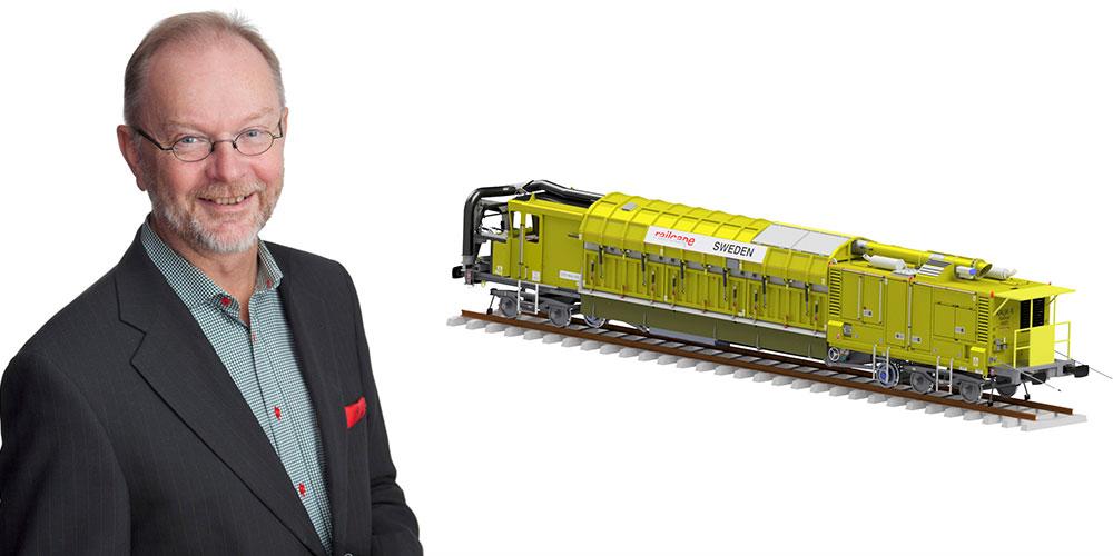 Lars Stenlund, vd för Vitec.