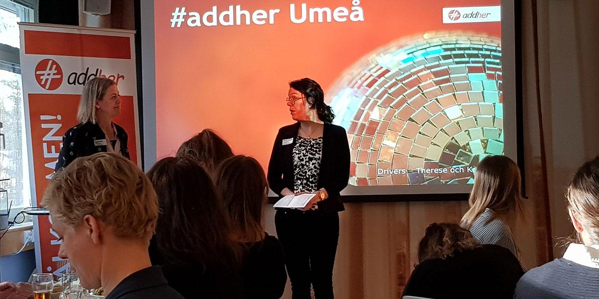 #addher Umeå