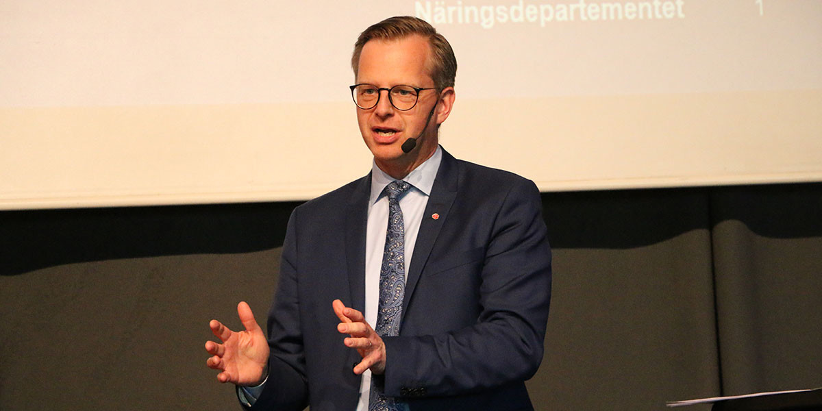 Mikael Damberg, närings- och innovationsminister, kommer till Business Development Day i Skellefteå 22 november.