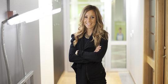 Maria Olofsson, projektledare på Uminova Innovation.