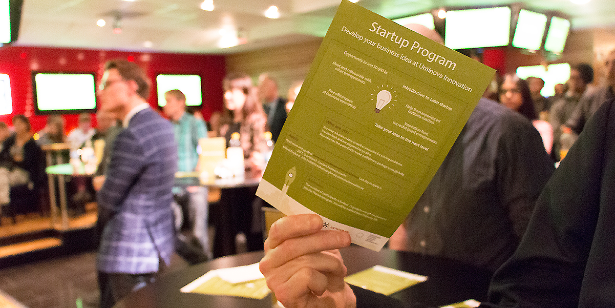 När Uminova Innovations Startup-program avslutas 6 december sker det med en Demo Day,