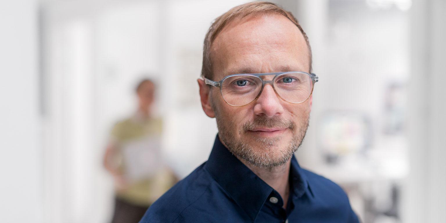 Leif Renström, vd för Hello Future.