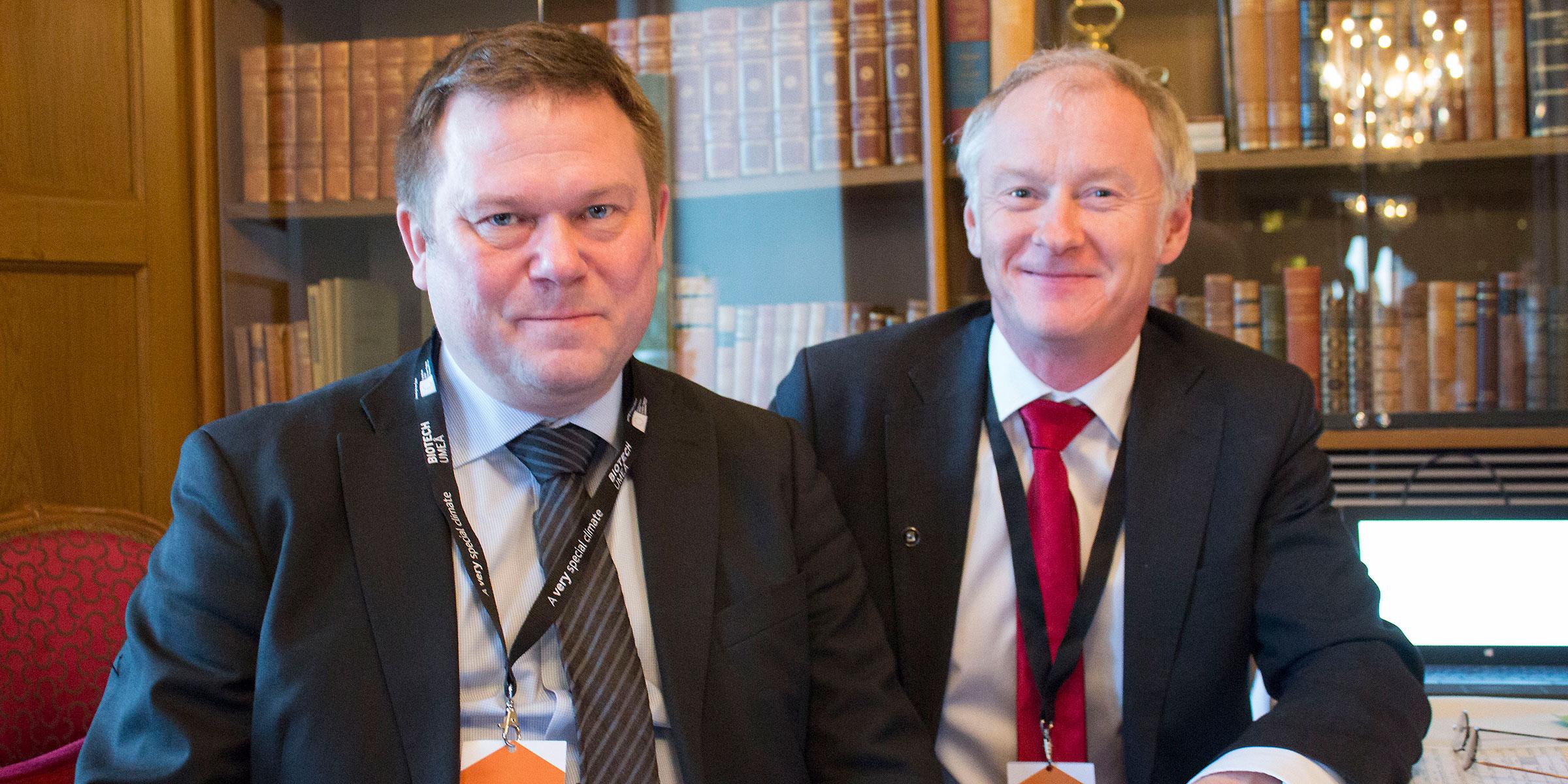 Jonas Berggren and Pontus Jämthag, Nordic Health Innovation.